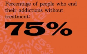 "75% of ""Addicts"" are ""Recovered"" at any given point in time – Most without treatment"